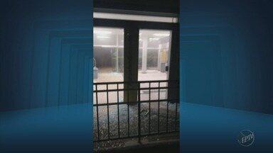 Criminosos explodem três agências bancárias em duas cidades do Sul de Minas - Criminosos explodem três agências bancárias em duas cidades do Sul de Minas
