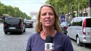 Imprensa francesa vive expectativa de ida de Neymar para o Paris Saint-Germain - Imprensa francesa vive expectativa de ida de Neymar para o Paris Saint-Germain