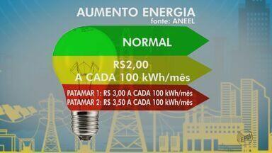 Contas de luz terão bandeira vermelha em agosto, diz Aneel - Aumento se deve ao custo para a produção de energia.