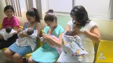 Agosto Dourado incentiva para aleitamento materno - Especialistas dizem ser importante para desenvolvimento do bebê