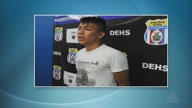 Suspeito de matar engenheiro agrônomo após cobrar salário atrasado é preso no AM - Agrônomo foi esfaqueado em um sítio na Zona Rural de Manaus.