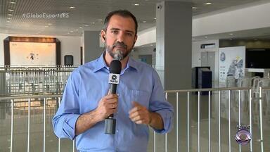 Ex-presidente do Grêmio, Hélio Dourado, é velado na Arena nesta terça (1º) - Assista ao vídeo.