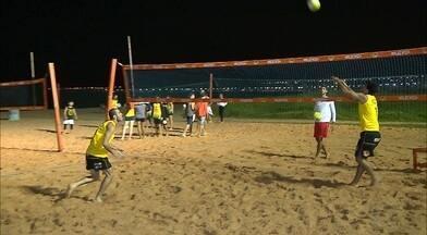 Dupla paraibana está pronta para os Jogos Mundiais da Segurança Pública nos EUA - Renan Roberto e Igor Garcia vão representar o país no vôlei de praia na competição em Los Angeles