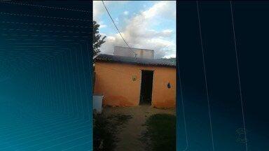 Brincadeira de criança provoca incêndio em Sousa, no Alto Sertão da PB - Por pouco, a brincadeira não terminou em tragédia.