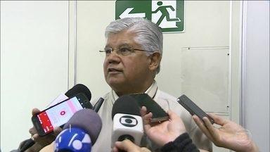 Ex-senador Clésio Andrade, do PMDB, presta depoimento em processo do mensalão mineiro - Clésio Andrade foi interrogado por quase duas horas. Ele é acusado de peculato e lavagem de dinheiro.