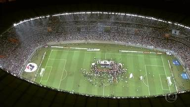 Mineirão ou Independência? Jogadores opinam qual estádio é melhor para o Atlético-MG - Torcedores também comentaram sobre os dois estádios