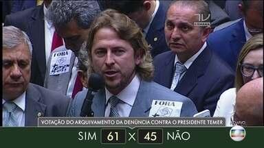 Veja como votaram os deputados do estado do Paraná - Veja como votaram os deputados do estado do Paraná