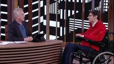 Rodrigo Mendes conta como ficou tetraplégico - Empresário foi baleado durante um assalto