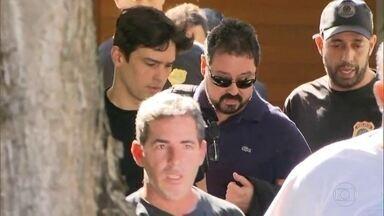 Ex-secretário de Obras do Rio é preso em desdobramento da Lava Jato - Investigadores dizem que ele recebeu R$ 7,7 milhões em um esquema de corrupção que movimentou R$ 30 milhões. Alexandre Ponto foi preso em casa, na Taquara.