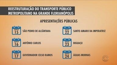 Definidas datas de apresentações da reestruturação do transporte público da capital - Definidas datas de apresentações da reestruturação do transporte público da capital