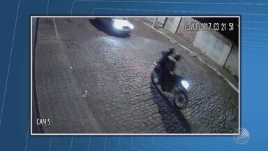 Tentativa de assalto: bandidos atacam agência do Banco do Brasil em Candiba - Câmeras mostram o momento da chega dos bandidos; confira.