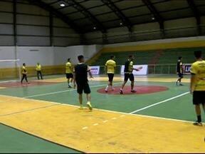Futsal de Dracena treina forte para encarar a equipe de Sorocaba - Times voltam a se enfrentar no próximo dia 15 de agosto.
