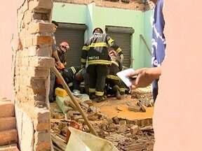 Pedreiro atingido por muro de obra morre na Santa Casa - Acidente foi na última segunda-feira (31), em Presidente Prudente.