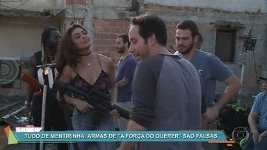 Vídeo Show mostra como são feitas as armas de 'A Força do Querer' - Personagem de Juliana Paes está cada vez mais envolvida com o mundo do crime