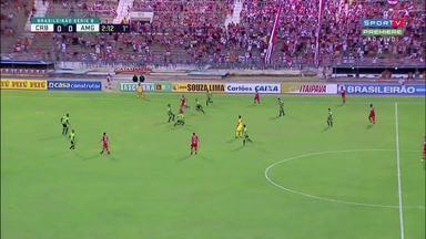 Depois de duas derrotas fora de casa, CRB vence o América-MG no Rei Pelé - Partida terminou em 2 a 1.