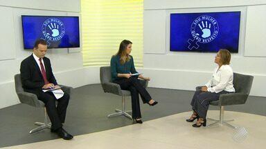 'Sou mulher, quero respeito': Lei Maria da Penha completa 11 anos; promotora comenta - Mais de 23 mil casos já foram denunciados até março deste ano. Participe da campanha pelo email jm@redebahia.com.br.