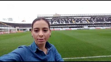 Globo Esporte desta quinta-feira vai ser ao vivo da Vila Belmiro - Acompanhe tudo sobre a partida entre Santos x Atlético Paranaense.