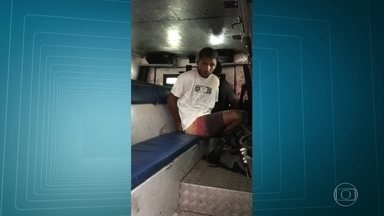 G1 no RJ1: Polícia prende assaltante acusado de roubo de mais de 50 carros - Polícia prendeu nesta quinta (10) o o assaltante Thiago Rodrigues dos Santos, integrante de uma quadrilha de roubo de cargas. E também um dos maiores assaltantes de carro do estado foi preso.