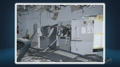 Criminosos explodem caixa eletrônico em Minduri, MG - Criminosos explodem caixa eletrônico em Minduri, MG