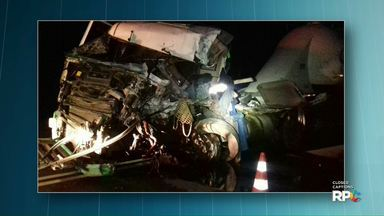 Ônibus que saiu de Foz se envolve em acidente com caminhão - Uma pessoa morreu