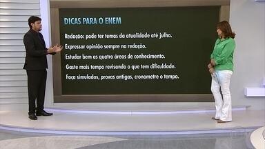 Saiba como se preparar melhor para o Enem; veja entrevista - O especialista em Educação Geraldo Junio é o convidado do estúdio do MGTV 1ª edição. O tema foi escolhido pelos telespectadores.