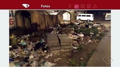 APP TV Gazeta: prefeitura elimina 'lixão' em Itacibá depois de reclamação de moradores - Os moradores mandaram um recado agradecendo a limpeza.