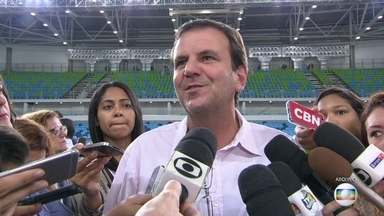 Eduardo Paes vira réu por improbidade administrativa - Justiça acatou denúncia do Ministério Público que acusa o ex-prefeito de não cobrar uma taxa milionária da construtora que fez o Campo de Golfe Olímpico da Barra da Tijuca.