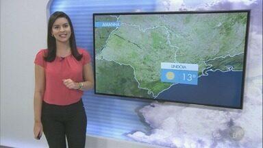 Sexta tem previsão de sol com algumas nuvens e sem chances de chuva - Termômetros registram mínima de 14º em Campinas (SP).