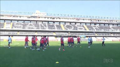 Atlético encara o Santos pela Libertadores - O time precisa vencer para garantir um lugar nas quartas-de-final da competição.