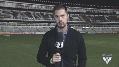 Santos enfrenta o Atlético-PR pela Libertadores - Partida ocorre na Vila Belmiro.