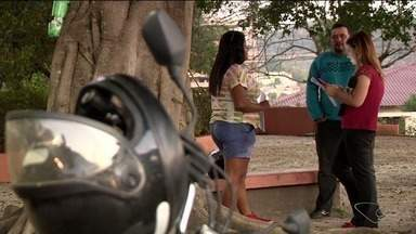Serviço de mototáxi ganha força em Cachoeiro, ES, mas ainda não é regulamentado - Projeto de regulamentação ainda não deu entrada na Câmara Municipal.