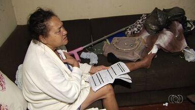 Idosa internada há quatro meses consegue fazer exame - Ela precisava do procedimento para poder ser operada.
