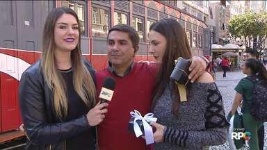 Paraná TV faz homenagens a todos os pais - E o Jason Goulart também ganha um presente antecipado!