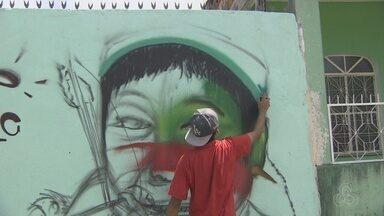 Manaus vai receber encontro nacional de grafiteiros - Evento vai ocorrer neste fim de semana