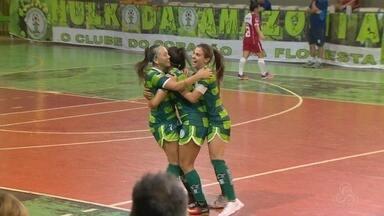 Iranduba vence Unifor-CE por 5 a 2 e sai na frente na semi da Copa do Brasil de Futsal - Duelo do feminino ocorreu na noite desta quinta, no Ginásio Renê Monteiro, em Manaus.