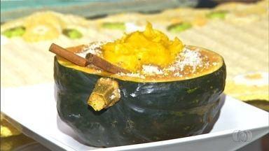 Confira receita de curau de abóbora cabotiá - Prato é considerado de preparo simples e pode ser servido na casca da abóbora.