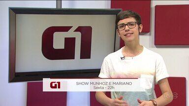 Confira opções de eventos para o final de semana em Guarapuava - Quem te conta é a repórter do G1 Leticia Paris.