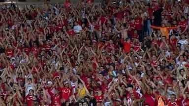 Inter espera apoio da torcida na partida contra o Londrina - Assista ao vídeo.
