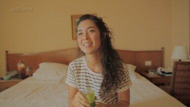 Luana Tanaka comenta sobre seu blog de vida saudável - Confira o vídeo