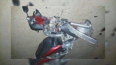 Mulher morre durante colisão entre duas motos em Ji-Paraná - Acidente ocorreu no Anel Viário.