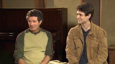 Pianista José Namen se apresenta ao lado do filho, o cantor e instrumentista Rabello - No dia dos pais, Globo Horizonte mostra encontro especial.