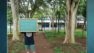 Campanha quer combater abusos sexuais nas Universidades - Iniciativa foi de um grupo da UEM em Maringá.
