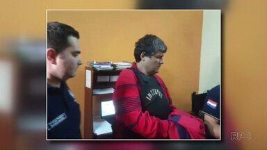 Paraguaio suspeito de participar de roubo milionário é levado para Cidade do Leste - Ele foi preso na Argentina