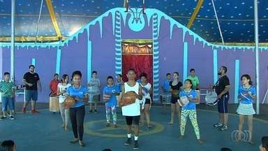 Projeto do Circo Lahetô recebe apoio do Criança Esperança para aulas de circo em Goiânia - Projeto social faz sucesso e atende crianças na capital.