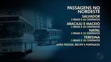 Tarifa de ônibus em Aracaju vai custar R$3,50 - Tarifa de ônibus em Aracaju vai custar R$3,50.