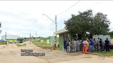 Carreteiros da unidade de transbordo da Estre continuam em greve - Carreteiros da unidade de transbordo da Estre continuam em greve.
