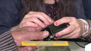 Cartórios Eleitorais de Cianorte e Umuarama estão de plantão hoje - Eleitores das comarcas das duas cidades precisam fazer o cadastramento biométrico.