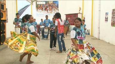 Centro de cultura negra é uma das instituições beneficiadas pelo Criança Esperança no MA - 'Sua esperança não está sozinha' é o tema este ano do criança esperança, que a Rede Globo e a Unesco realizam hoje em todo o Brasil.