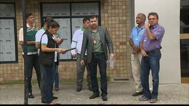 Postos de combustíveis de João Pessoa são autuados durante fiscalização - Teve posto de combustível com as bombas interditadas.