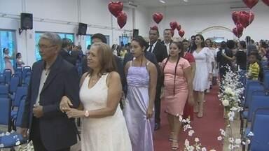 No Amapá, 133 casais celebram matrimônio em cerimônia realizada pelo Tjap - A celebração que aconteceu na sexta-feira (18) reuniu 133 casais que oficializaram o matrimônio.